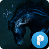 Dark Horse Launcher Theme Giveaway