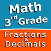 Third grade Math skills - Fractions and Decimals Giveaway