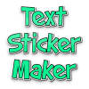 Text sticker maker for whatsapp - text stickers Giveaway