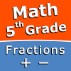 Add and subtract fractions - 5th grade math skills Giveaway