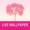 Falling Flowers Red - Live Wallpaper Giveaway