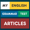 My English Grammar Test: Articles - PRO Giveaway