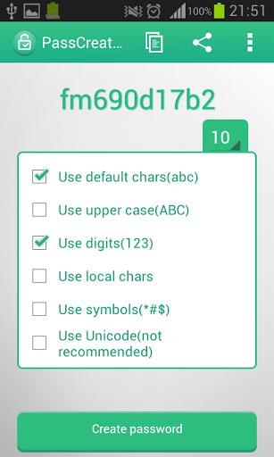 local password generator