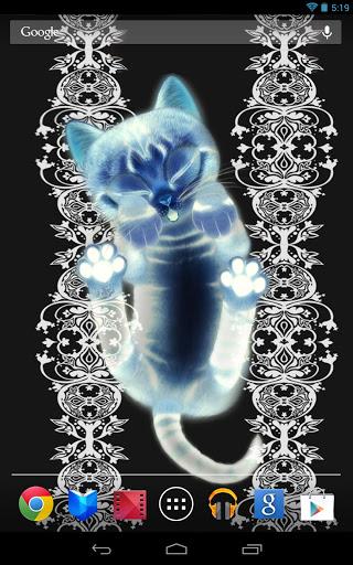 3d Wallpaper Of Cat