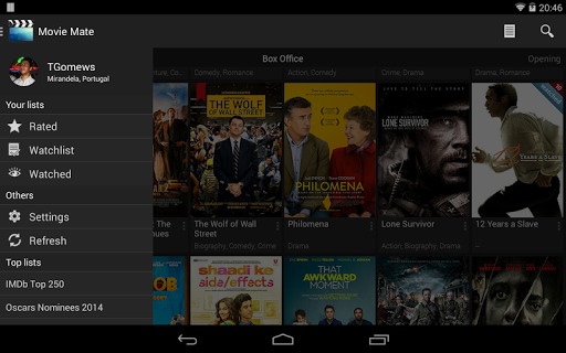 Android Giveaway of the Day - Movie Mate Pro