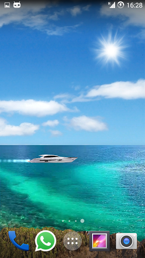 Android Giveaway Of The Day Realistic Sea Wallpaper