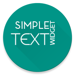 Simple Text Widget (Any Text) Giveaway