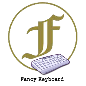 Fancy Keyboard Giveaway