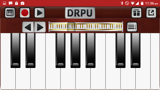 Android Giveaway of the Day - Piano Keyboard Music Pro - DRPU PIANO
