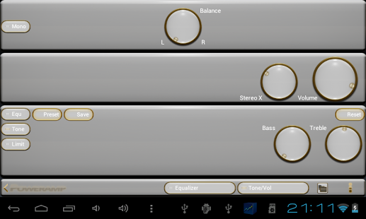Android Giveaway of the Day - gold white power amp skin