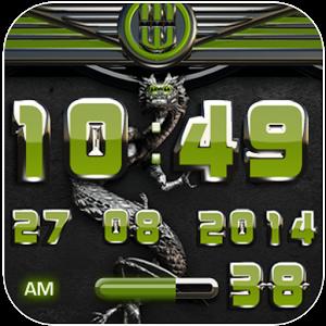 dragon digital clock olive Giveaway
