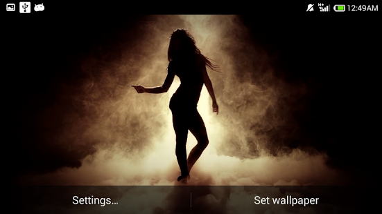 Android Giveaway Of The Day - Sexy Dancing Girl Wallpaper-8077