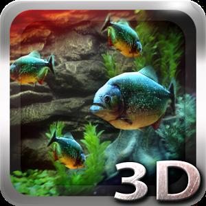 Piranha Aquarium 3D lwp Giveaway