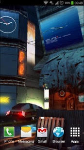 Android Giveaway Of The Day Futuristic City 3d Pro Lwp