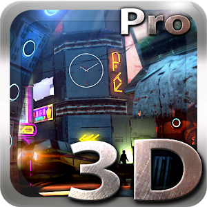 Futuristic City 3D Pro lwp Giveaway