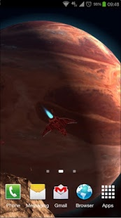 Android Giveaway Of The Day Planetscape 3d Live Wallpaper