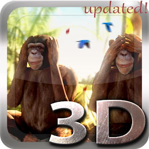 Three Wise Monkeys 3D Giveaway