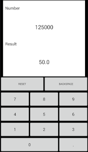 Giveaway Androide du jour - Cubed Root Calculator