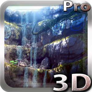 3D Waterfall Pro lwp Giveaway