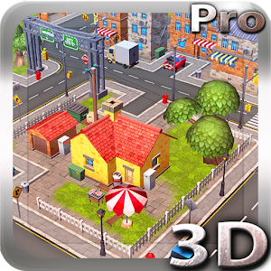 Cartoon City 3D live wallpaper Giveaway