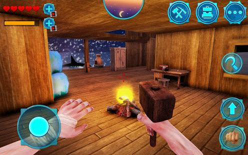 Android Giveaway of the Day - Survival Ocean Raft - Winter