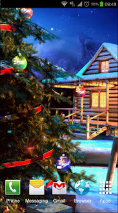 Android Giveaway Of The Day Christmas 3d Live Wallpaper