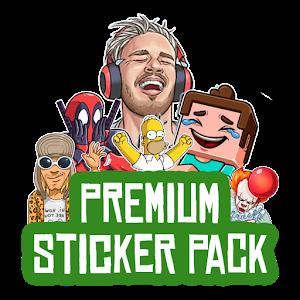Premium Sticker Pack - Sticker for WhatsApp Giveaway