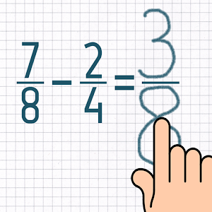 Subtract Fractions Trainer Giveaway