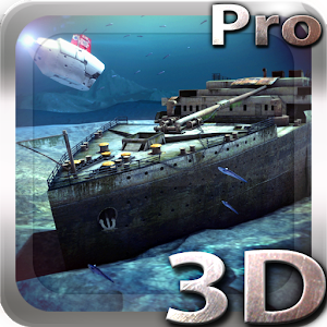 Titanic 3D Pro live wallpaper Giveaway