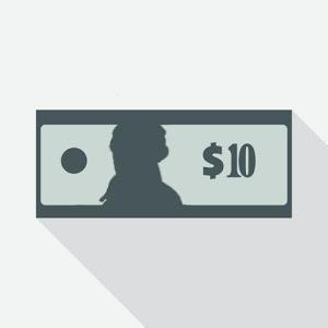 10 Dollar Bill Giveaway