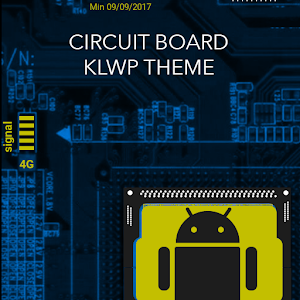 Circuit Board KLWP Theme Giveaway