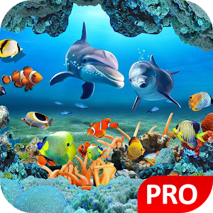 Fish Live Wallpaper 3D Aquarium Background HD :PRO Giveaway