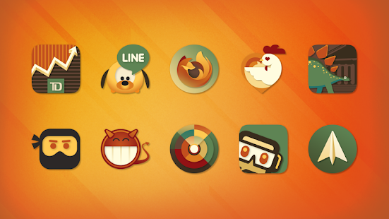 Android Giveaway of the Day - Dynasty - Retro Icon Pack