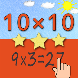 Multiplication Tables 10x10 Giveaway