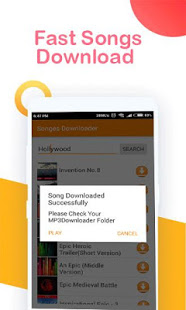Android Giveaway of the Day - Free Music Downloader - Mp3 Songs Download