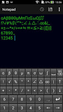 Giveaway Androide du jour - Mathematical keyboard B