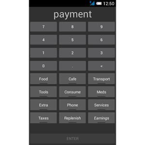 Pay Save expense log Giveaway