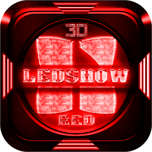 Next Launcher Theme LedShowRed Giveaway