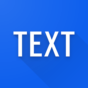Simple text widget - Text widget for android Giveaway