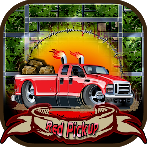 Red pickup Giveaway