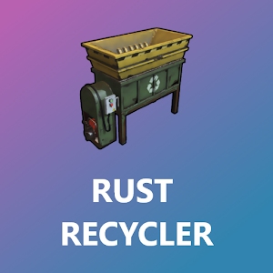 Rust Recycler Giveaway