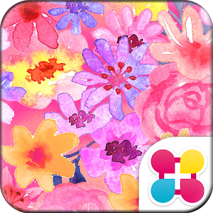 Watercolor Flowers Wallpaper Giveaway