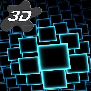 Neon Parallax Squares Particles 3D Live Wallpaper Giveaway