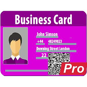 Pro vCard, MeCard, BizCard QR: create, generate QR Giveaway