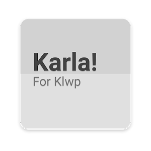 Karla! For Klwp Giveaway