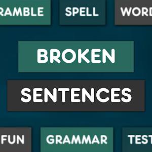 Broken Sentences PRO Giveaway
