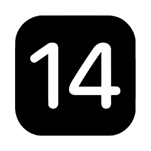 iOS 14 Black - Icon Pack Giveaway