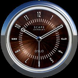 OSLO Analog Clock Widget Giveaway