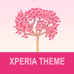 Xperia Theme - Falling Flowers Red Giveaway