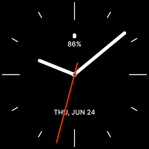 Minimalistic Analog Watch Face Giveaway